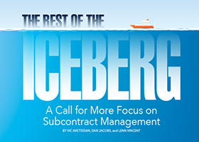 ICEBERG A Call for More Focus on Subcontract Management